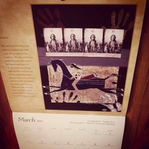 三月が去って行く ラコタカレンダー