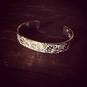 12mmのsoul texture bangle