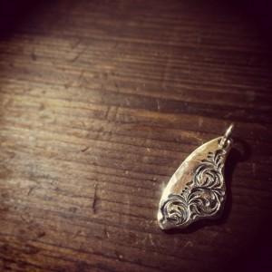 純銀手彫りメダル