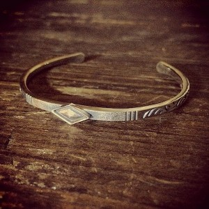 diamond center bangle [soul texture/order sample]