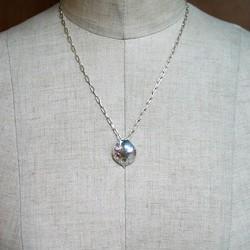 純銀手彫り唐草嘴ネックレス2