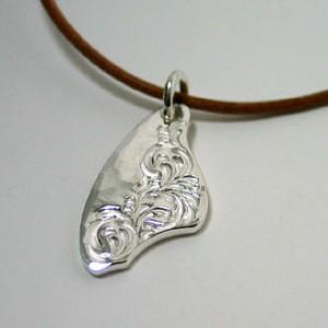 純銀手彫りメダル2