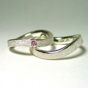 snow wave ring