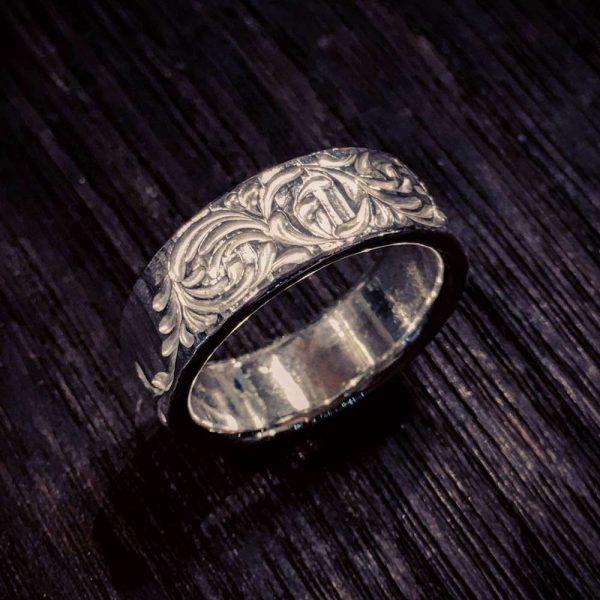 hammer stripe ring [soul texture]