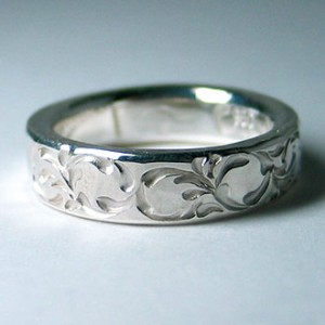 soul texture ring narrow