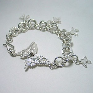 one-off evolution bracelet [soul texture & charm] '09