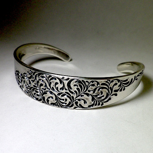 axis bangle [soul texture/15mm]