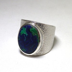 order sample [Azurmalachite ring]
