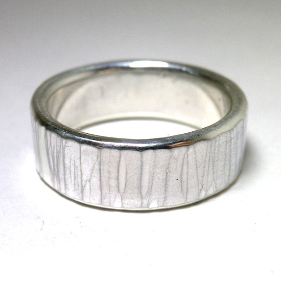 hammer stripe ring [7mm]
