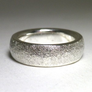 stone ring [5mm/round hammering]