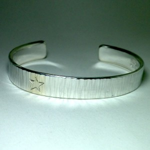 hammer stripe bangle[custom made sample]