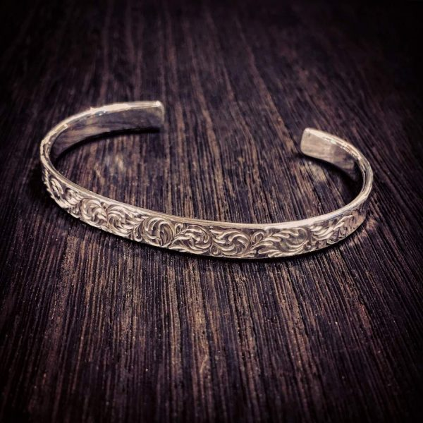 hammer stripe bangle [engrave]