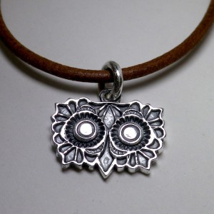 owl [head] pendant