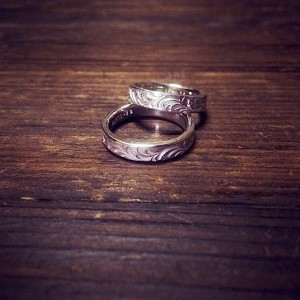 stone ring [4mm/soul texture/order sample]
