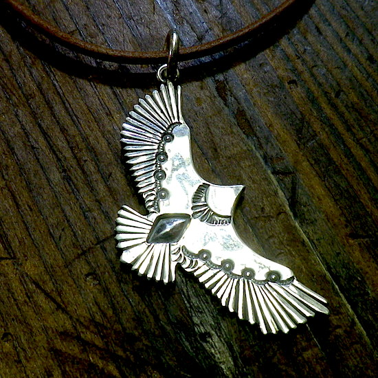 flying eagle pendant