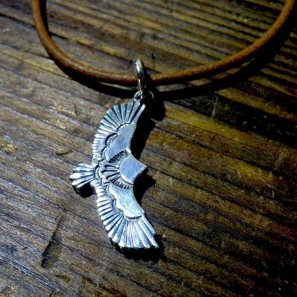 little eagle pendant