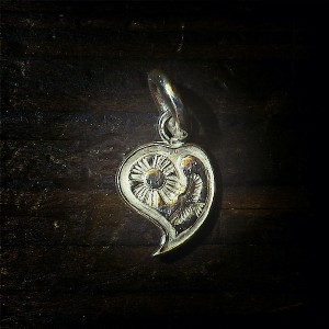 heart pendant [sun & eagle]