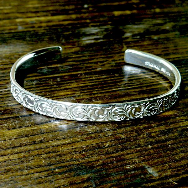 soul texture bangle [narrow]
